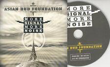 ASIAN DUB FOUNDATION More Signal More Noise UK 11-track promo CD