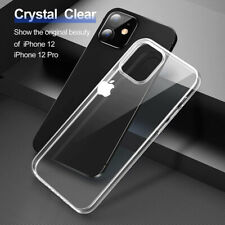 Clear Case For iPhone 12 11 Pro Max XR XS Max Soft TPU Cover Shockproof Silicone