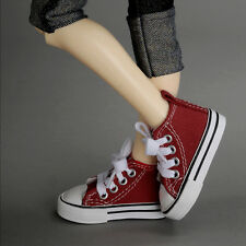 Dollmore 1/4 BJD DOLL SHOES MSD - Nika Sneakers (Wine)