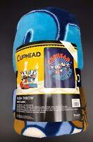 "Cuphead & Mugman Plush Throw Blanket 48"" x 60"" by Loungefly New"