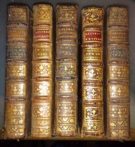 1781.INDES.PONDICHÉRY.COMPAGNIE DES INDES.MADURÉ.CHANDERNAGOR.CINQ VOLUMES.