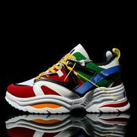 Men's Fashion ins Running Sports Walking Shoes Breathable Casual Sneakers Vogue