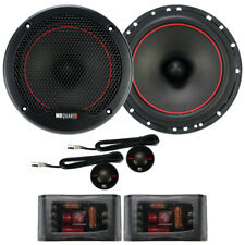 """MB Quart RS1-216 Reference Series 6-1/2"""" 2-Way Component Speakers 6.5"""" Comp NEW"""