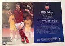 2016 Topps UEFA Champions League 5x7 GOLD (#/10 Made) EDIN DZEKO AS Roma #123