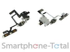 IPhone 4 audio Jack Flex según barra espaciadora auriculares con tubería conector cable, blanco