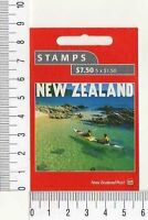 11635) New Zealand Cplt Booklet 2001 #1730b S/A MNH 100 Years Tourism IN NZ