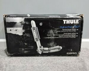 Thule Hull-A-Port Pro Folding Rooftop Kayak Vertical Carrier - 835PRO BRAND NEW