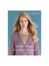 Rowan Knitting Pattern Book Simple Shapes Handknit Cotton 8 Designs for Women