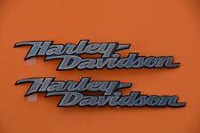 HARLEY DAVIDSON FUEL TANK  EMBLEMS MEDALLIONS SOFTAIL DYNA STREET GLIDE USA MADE