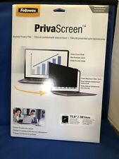 NEW Fellowes 4800101 Laptop/Flat Panel Privacy Filter Screen PrivaScreen 15in