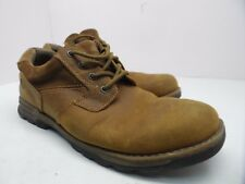 Nunn Bush Men's Phillips Plain Toe Oxford Leather Camel Shoes Tan Size 11M