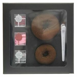 Invisibobble Styling Set- 9 Rings, 2 Donuts, Hair clip + styling guide BNIB