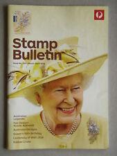 Australia Post Stamp Bulletin Issue No. 339 Mar - Apr 2016 Queen's 90th Birthday