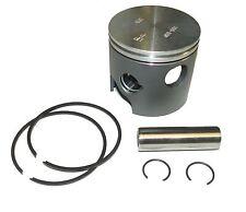 ".010 Piston Kit 3.375/"" SportJet Chrysler//Force 40 50 70 90 120 150 HP Outboard"
