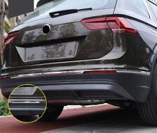 3PCS Stainless Steel Rear Bumper Lip Cover Trim for Volkswagen Tiguan 2017-2018