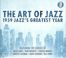 THE ART OF JAZZ 3 CD BOX SET - 1959 JAZZ'S GREATEST YEAR - BLUE TRAIN & MORE