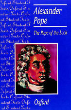 The Rape of the Lock: Alexander Pope (Oxford Student Texts), Pope, Alexander , G