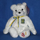 TY P.F.C. PFC the BEAR BEANIE BABY - UK EXCLUSIVE - MINT