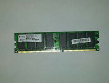 2GB 2 x 1GB Elixir PC3200 DDR1 NON-ECC Desktop RAM 184 Pins M2U1G64DS8HB1G-5T