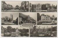 Kent postcard - Maidstone - Multiview - RP - P/U (A1170)