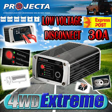 PROJECTA LOW VOLTAGE DISCONNECT CUT OUT DEEP CYCLE DUAL AGM BATTERY SOLAR LVD30