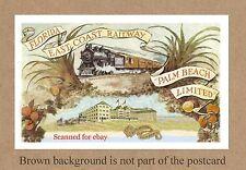 FL PALM BEACH A PROMO FOR THE BREAKERS HOTEL AND FLORIDA EAST COAST RAILWAY FEC