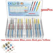 300Pcs Heat Shrink Solder Seal Sleeve Butt Splice Wire Connector Kit Waterproof