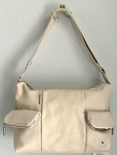 Mandarina Duck Wizard Cross Body Bag, Leather, 3 Outside Pockets, New with Tags