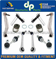 REAR CONTROL ARM ARMS BALL JOINT JOINTS SWAY BAR LINK LINKS 12pc KIT for BMW E60