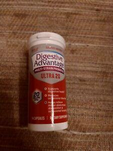 Digestive Advantage 20 Billion CFU Multi-Strain Probiotic Ultra 20 14 Capsules..
