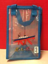 Ponyo On The Cliff By The Sea Asahi Small Clear Bag Japan Studio Ghibli