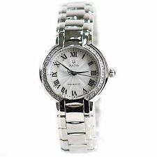 Bulova Fairlawn Precisionist Diamond Accent Watch Mother-of-Pearl Dial 96R167