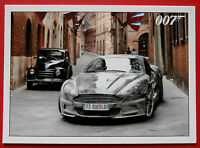 JAMES BOND - Quantum of Solace - Card #003 - Aston Martin Riddled by Bullets