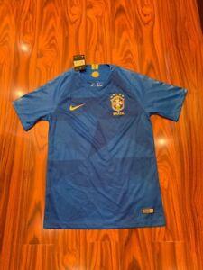 Brazil away football shirt 2018-2019 jersey soccer size S