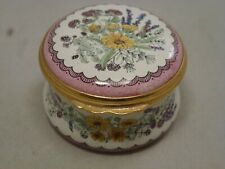Halcyon Days Enamels William Shakespeare The Winters Tale Trinket Box England