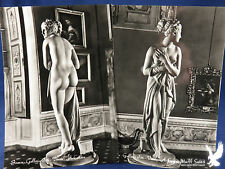 RPPC Famous Nude Marble Sculpture of Venus Firenze Lot of 2 SO DELICATELY CARVED