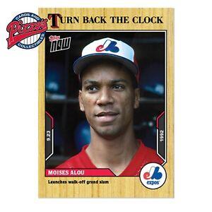 Moises Alou - 2021 MLB TOPPS NOW® Turn Back The Clock - Card 176 Presale