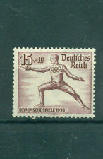 Briefmarken aus Deutschland (bis 1945) mit Motiv der Olympischen Spiele