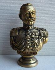 ORIGINAL German Emperor WILHELM II bust statue H=16 made in Ukraine