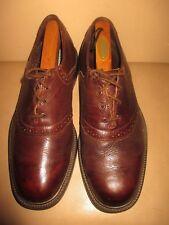 Sebago men's Dark Brown saddle oxford shoes,  size 10 M. Leather