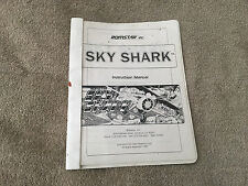 Romstar Sky Shark Instruction Manual