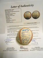 Rod Carew Eddie Murray Tony Oliva 20 Sigs AL ROY Signed Autographed Baseball JSA
