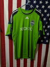 Authentic Seattle Sounders FC Soccer Jersey Adidas Size XXL, Xbox 360 MLS Soccer