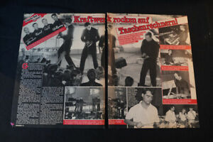 KRAFTWERK...BRAVO ...2 BLATT vom 1981