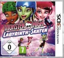 Nintendo 3DS Monster High Labyrinth Skaten BRANDNEU