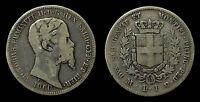 pci1003) Sardegna Vittorio Emanuele II 1 Lira 1860 MI