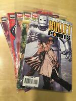 BULLET POINTS  full run 1-5 (1 2 3 4 5) Marvel Comics NM- 0281