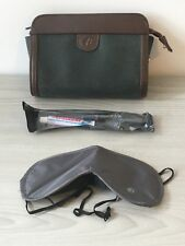 Malaysian Airlines Vanity Pack In Flight Toothbrush Eye Mask Toiletries Bag Kit