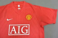 2007-09 nike Manchester United Home Shirt Champions League Winner 2008 SIZE M