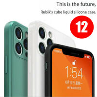 Liquid Silicone Case For iPhone 11/Pro/pro XS XR SE 7/8 Max shockproof Cover NEW